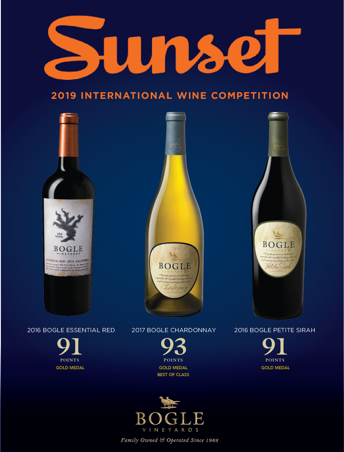 Sunset Magazine Score June 2019