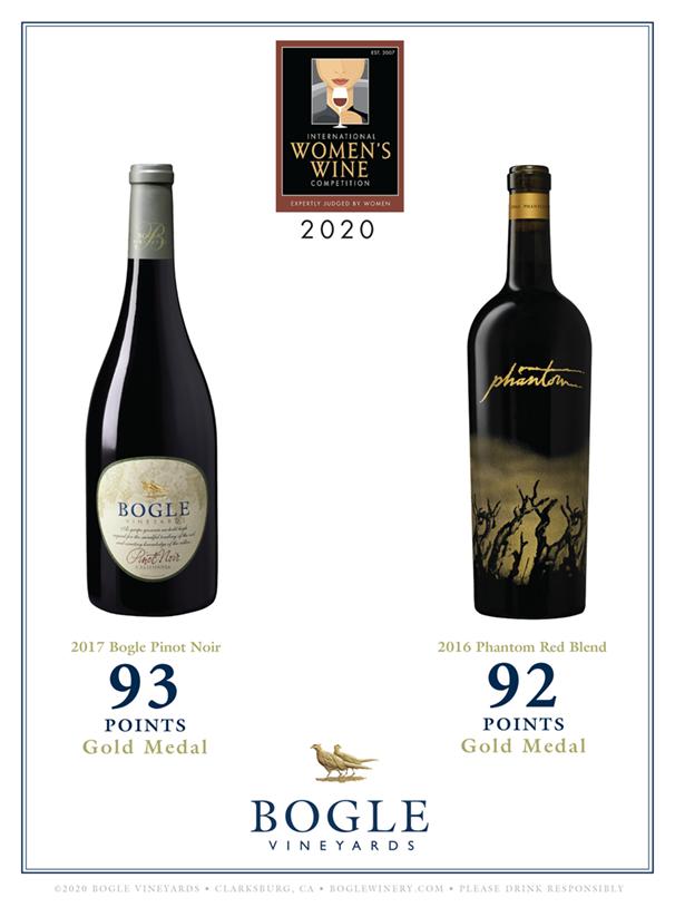 International Women's Wine Comp Results